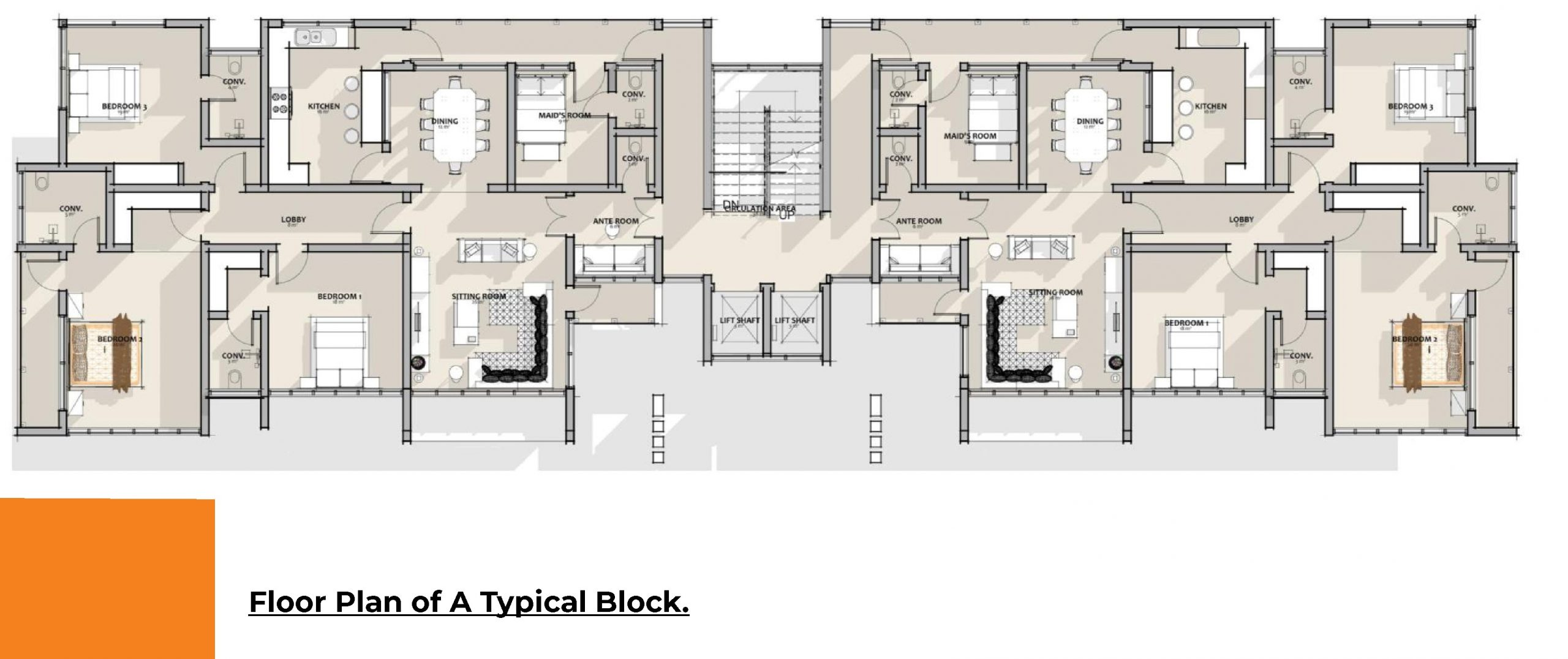 Solid Refuge - Floor Plan