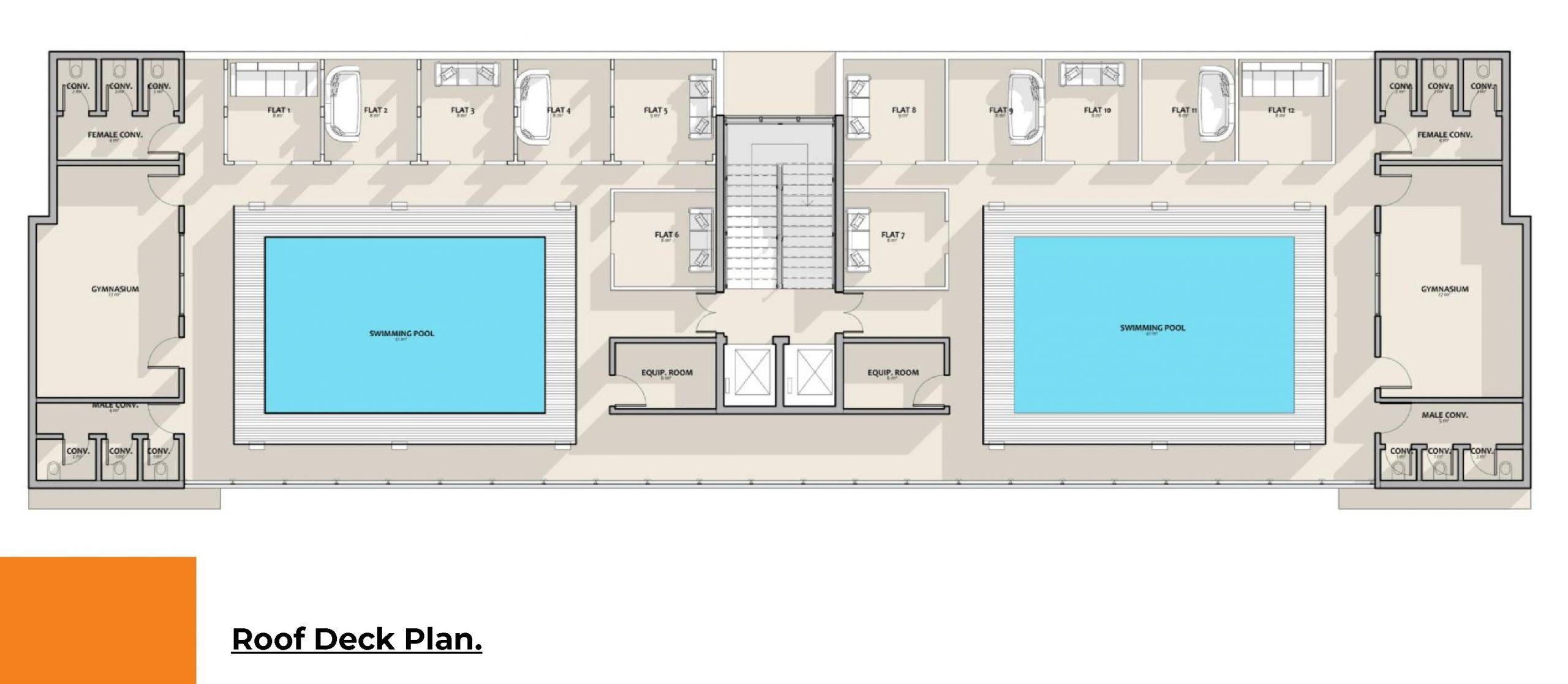 Solid Refuge - Roof Deck Plan